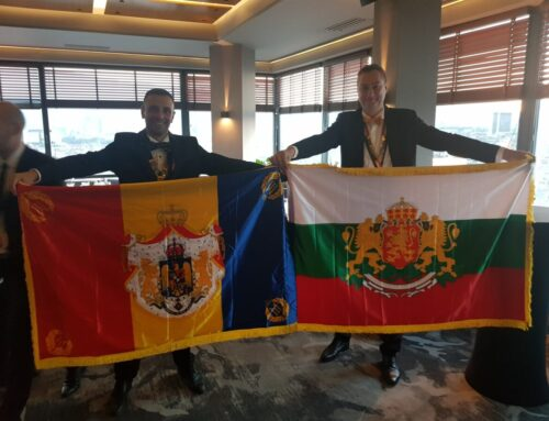 Rechartering of Round Table 1 Sofia in Bulgaria